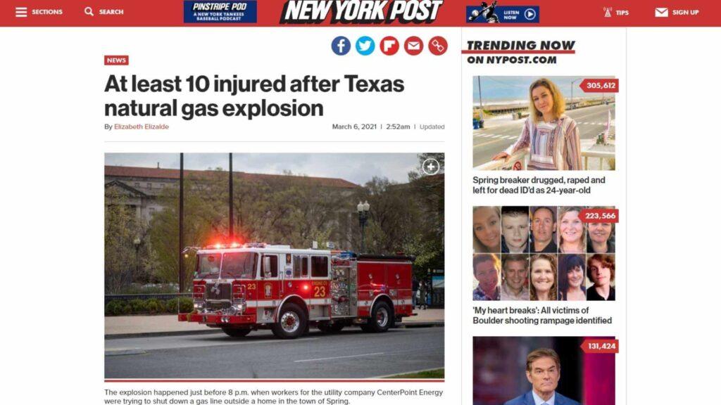 Natural gas leak explosion 3