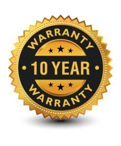 10 year warranty gas detector