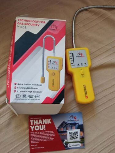 Y201 Propane and Natural Gas Leak Detector photo review